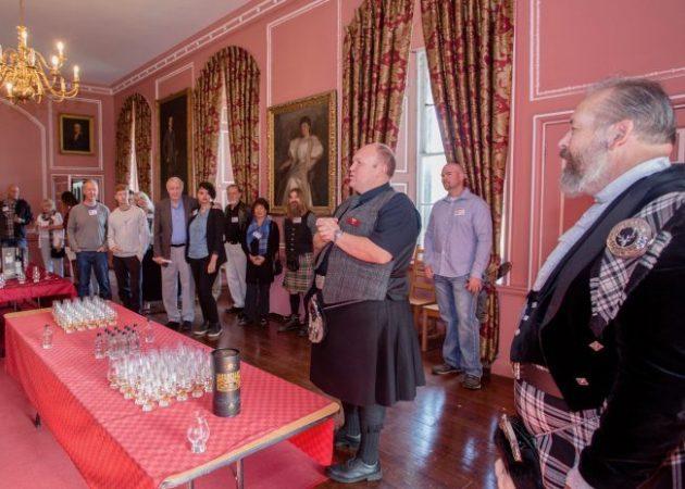 Whisky Tasting at Menzies Clan Gathering